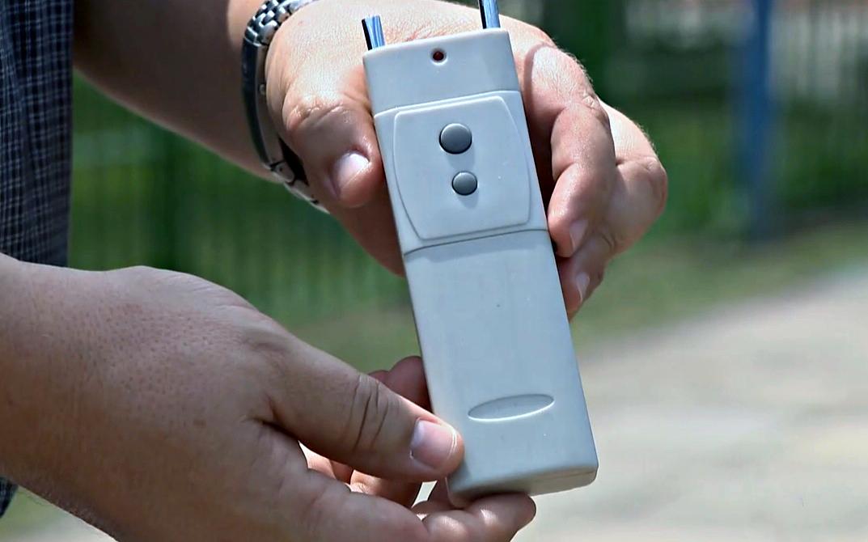 新德里打击非法使用手机干扰器