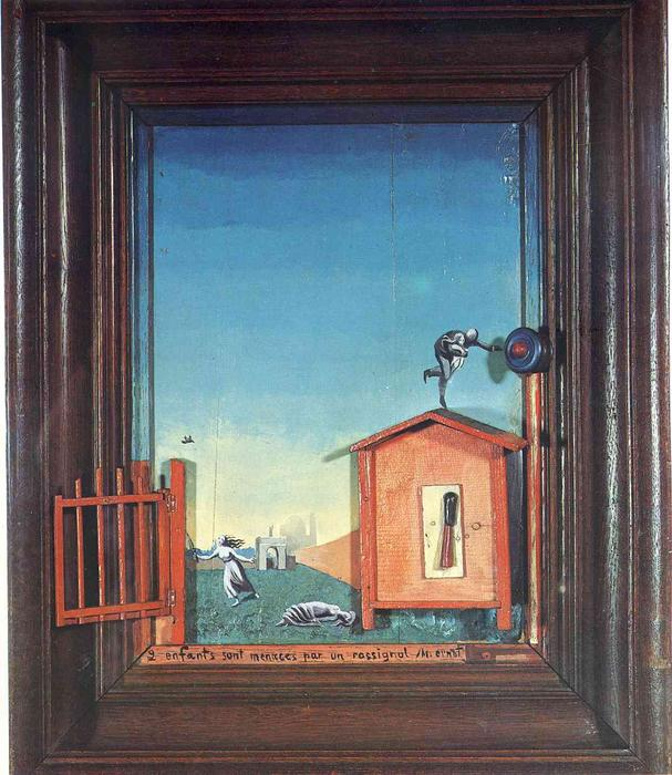 Duas Crianças Ameaçadas por um Rouxinol, 1924