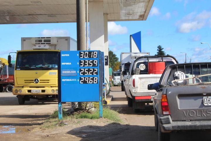 aumento de la nafta