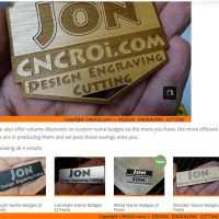 Thousands of Custom Name Badge Options