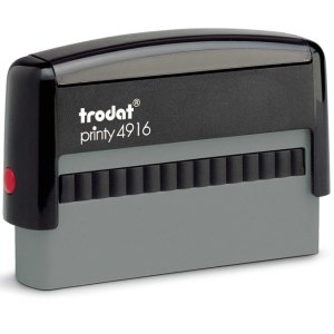 "PR_4916_Eco Trodat Original Printy 4916 Custom Self-Inking Stamp (10 x 70 mm or 3/8 x 2-3/4"")"