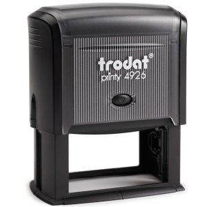 "trodat-printy-4926 Trodat Original Printy 4926 Custom Self-Inking Stamp (38 x 75 mm or 1-1/2 x 3"")"