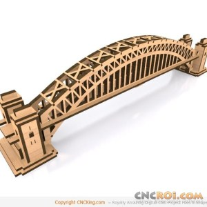 cnc-laser-sydney-harbor-bridge Sydney Harbour Bridge B