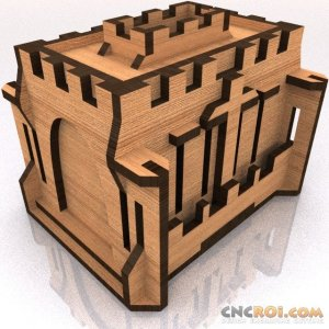 medieval-castle-bank-model-kit-1 Medieval Castle Bank