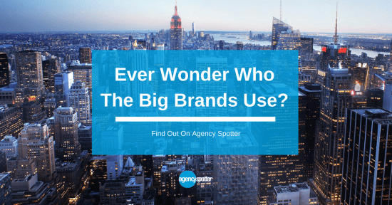 Who do the big brands use