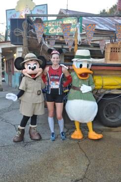 Safari Minnie and Donald in Animal Kingdom.
