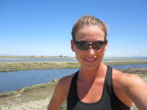 On a run in Novato, CA.