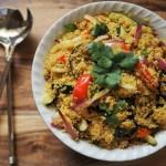 Recipe: Quinoa, Black Bean, and Kale Bowl. Vegan
