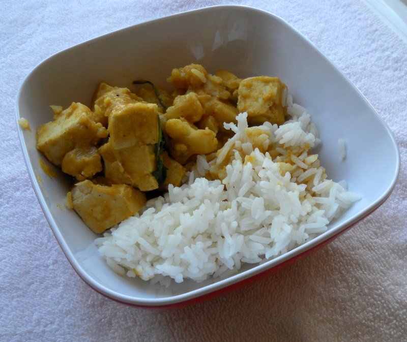Sometimes a spur of the moment meal like this curry just come together and are delicious.