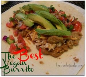 It's Vegan Mofo! Kicking Off: the Best Vegan Burrito Recipe