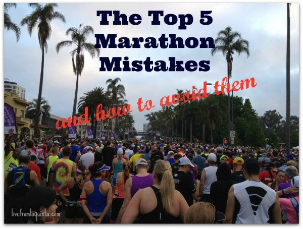 Marathon Mistakes