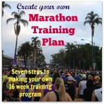 Create Your Own Marathon Training Plan