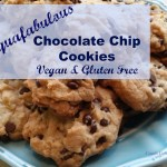 Aquafabulous Chocolate Chip Cookies. Vegan and Gluten Free
