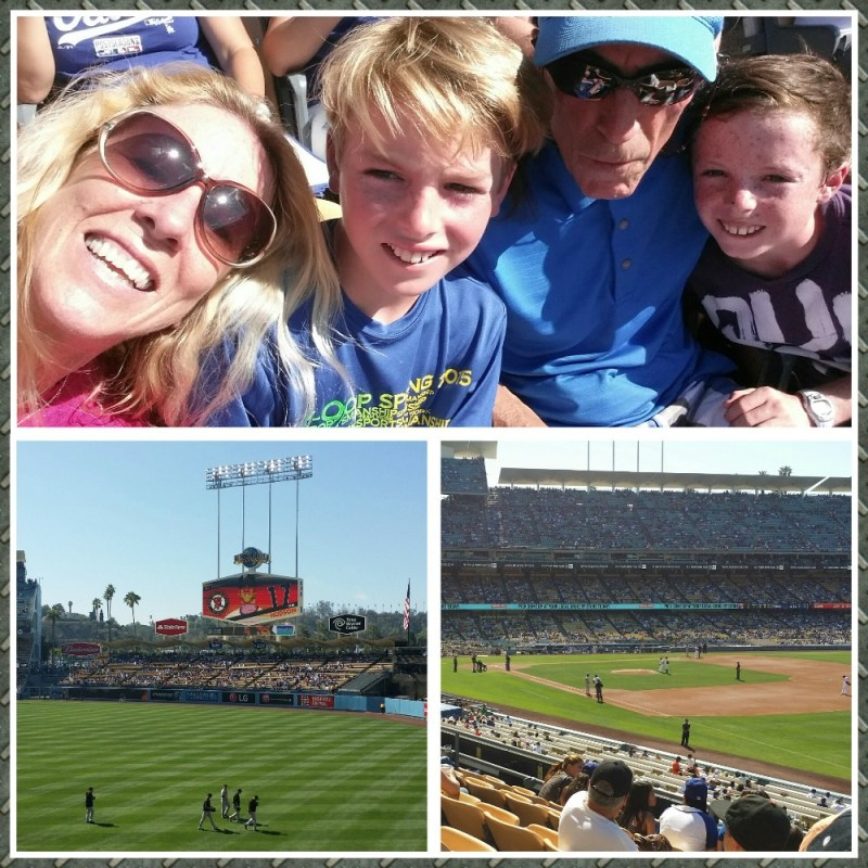Dodger Giants Baseball