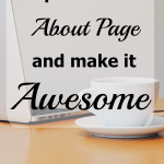 Update Your About Page and Make it Awesome