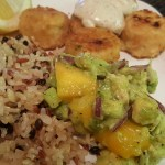 30 Minute Dinner: Gardein Crabless Cakes with Mango Avocado Salsa