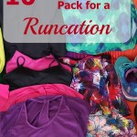 10 Tips for How to Pack for a Runcation
