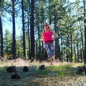 Big Bear Running and Baby it's HOT Outside!