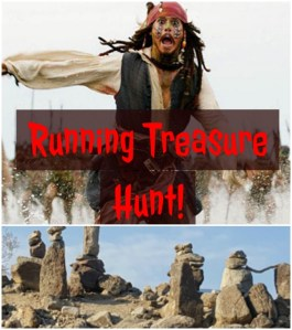 Running Treasure Hunt and a New Milestone Pod: Friday Favorites
