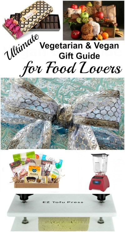 The Ultimate Vegetarian and Vegan Gift Guide for Food Lovers