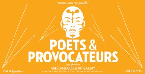 Poets and Provocateurs #10 @ Gré Coffeehouse & Art Gallery | Palm Springs | California | United States