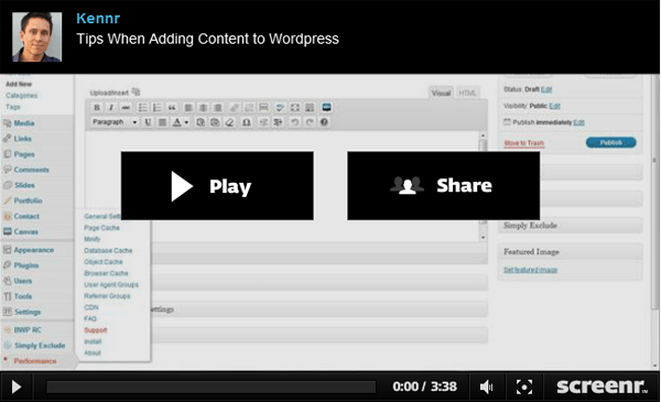 `Five Tips when Adding Content to WordPress