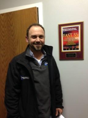 Great to see client Tony Stobl, of Cincinnati Crane, finishing in the top 3 of Cincinnati's Fast 55, recognizing entrepreneurs in the Cincinnati area.