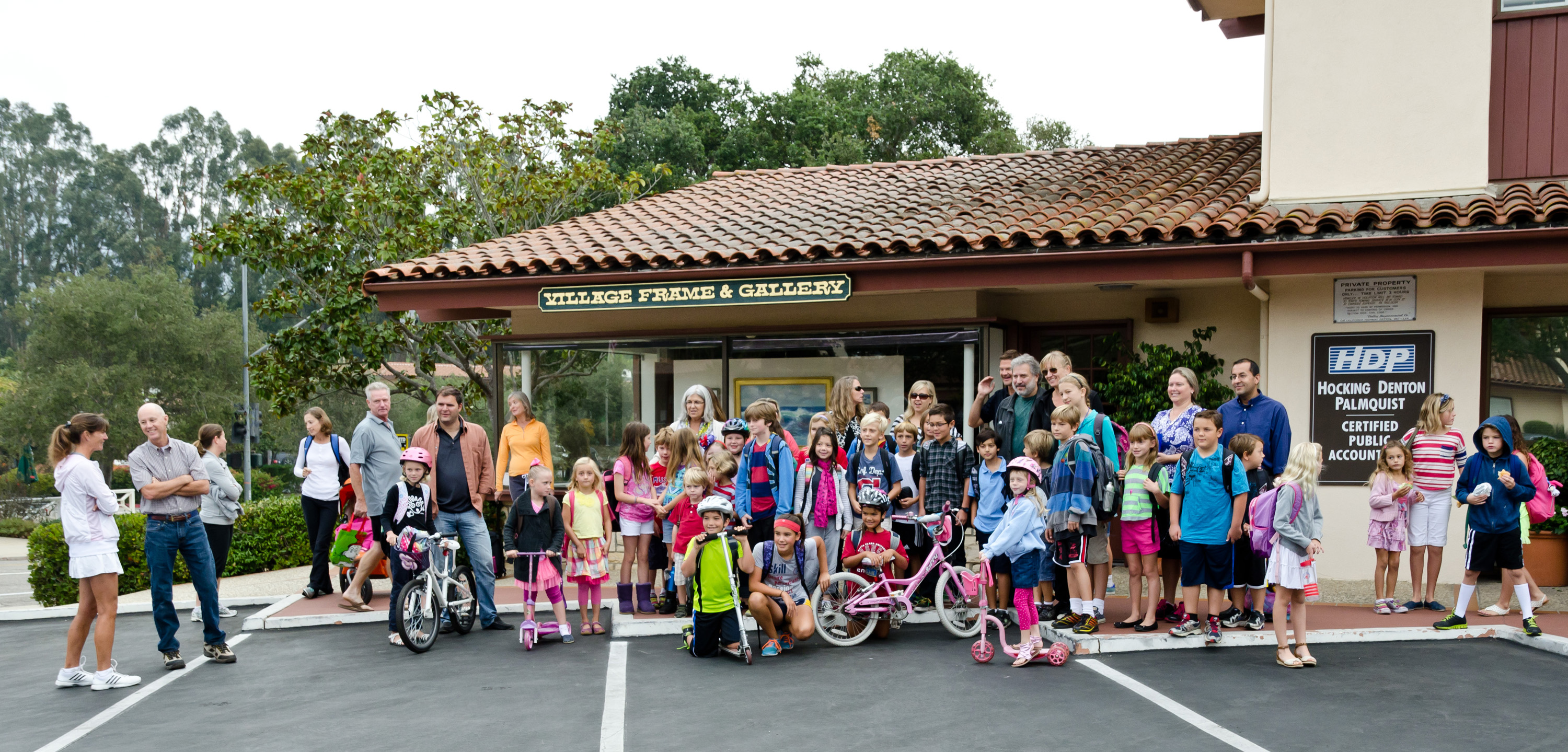 Montecito Union School Walk & Roll!