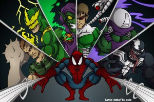 SINISTER SIX SPIDERMAN FINAL 300x200 Fechas de estreno para Los seis siniestros, The Amazing Spider Man 3 y Uncharted