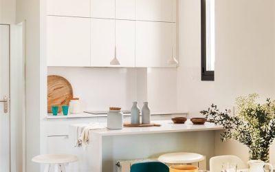 Cocinas pequeñas, sácales el máximo rendimiento