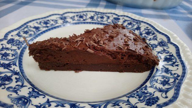 Tarta de mus de chocolate