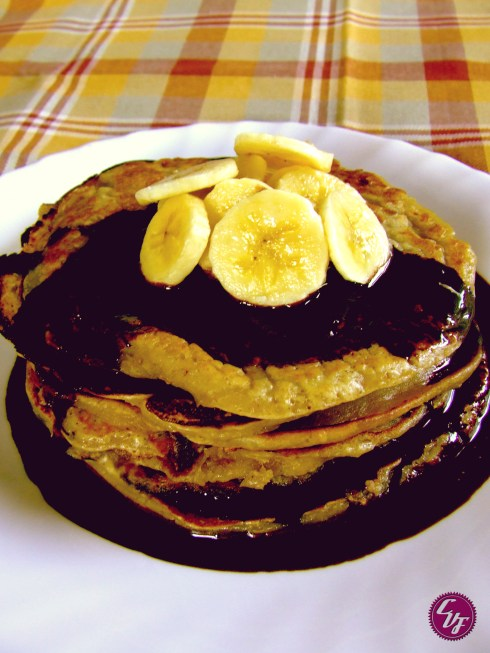 Tortitas veganas (vegan pancakes)