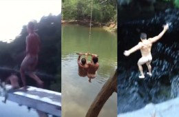 Is Naked Cliff Jumping Is The New Thrill-Seekers Dream? [Video]