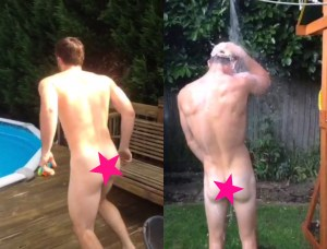 Hot Boys And Their Naked Garden Antics On Vine [NSFW]