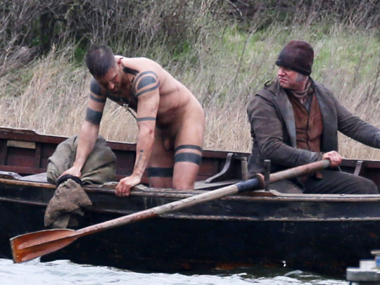 "Exclusive... 51965181 English actor Tom Hardy strips naked and jumps in a river while filming ""Taboo"" in Essex, England on February 01, 2016. ***NO WEB USE W/O PRIOR AGREEMENT - CALL FOR PRICING*** ***No Web / Online / Digital Reproduction Until Tuesday 6am GMT ** English actor Tom Hardy strips naked and jumps in a river while filming ""Taboo"" in Essex, England on February 01, 2016. ***NO WEB USE W/O PRIOR AGREEMENT - CALL FOR PRICING*** ***No Web / Online / Digital Reproduction Until Tuesday 6am GMT ** FameFlynet, Inc - Beverly Hills, CA, USA - +1 (310) 505-9876 RESTRICTIONS APPLY: USA/CHINA ONLY"