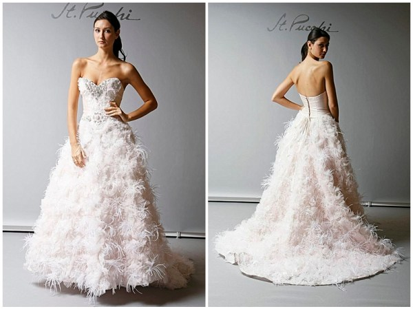 St Pucchi Pink Wedding Gown Dress