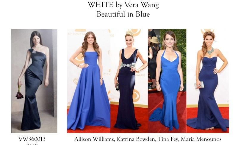 blue color trend 2014 dress