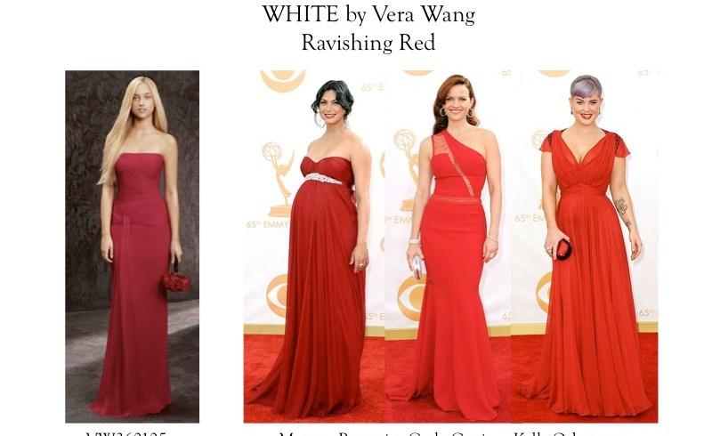 red dress bridemaids gown dress