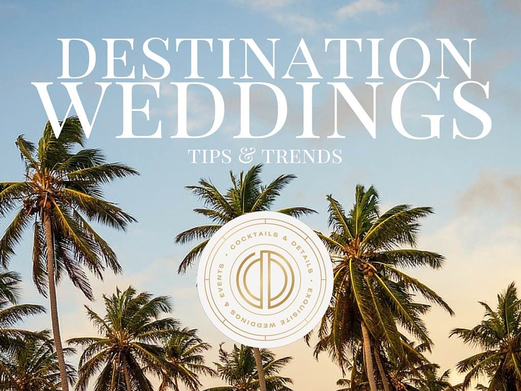 Desintation Wedding Planning