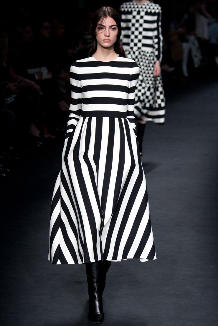 Striped Valentino Dress