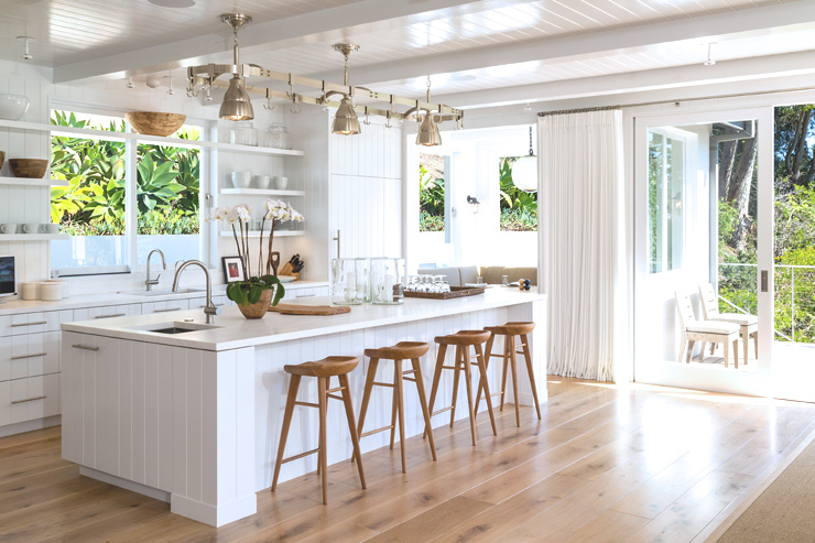 Cindy Crawford Malibu House for sale kitchen after renovation