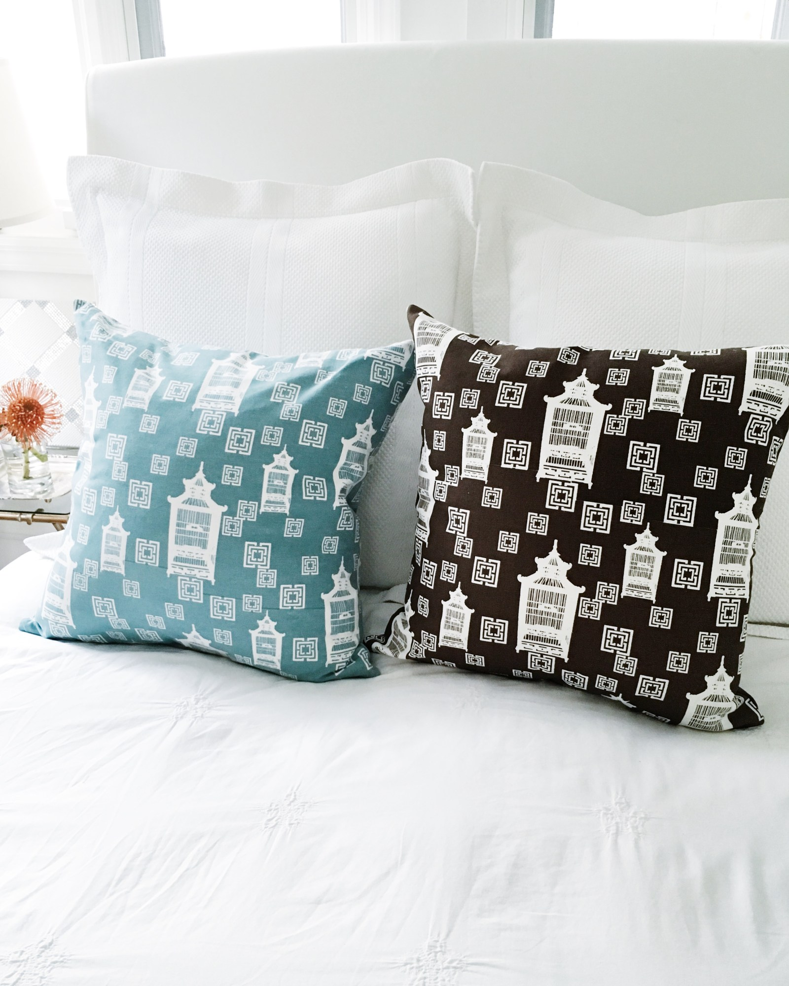 Birdcage Toile Pillows 50% Off – Pattern Watch
