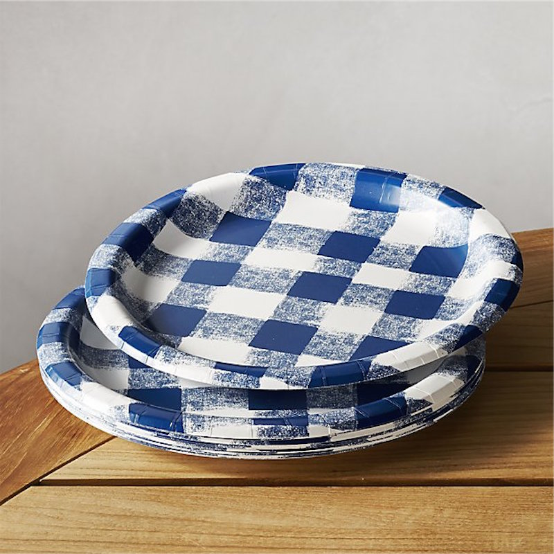 11 Blue Checkered Things : COCOCOZY