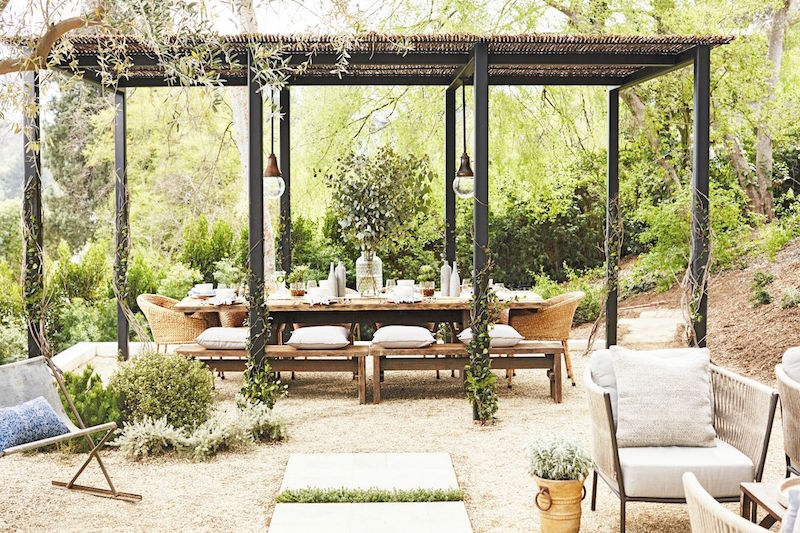 Rustic Outdoor Entertaining