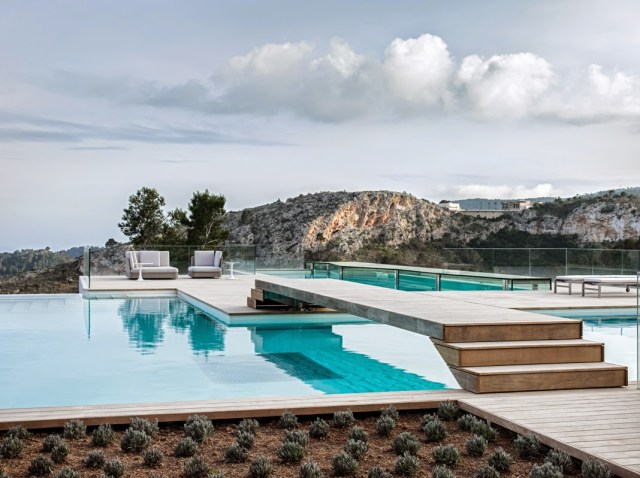 villa chameleon mallorca spain pool