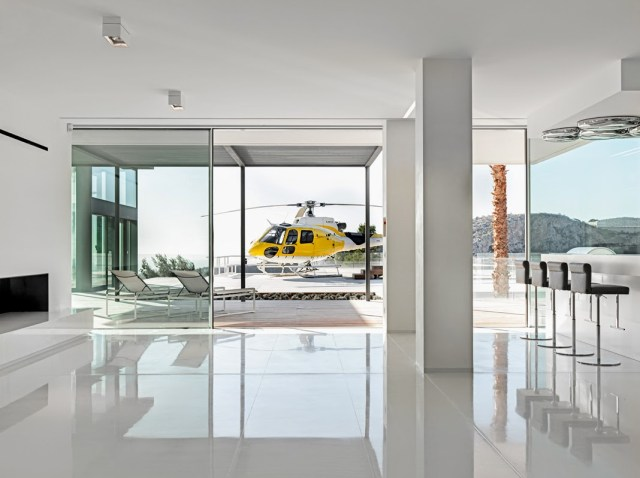 private helicopter pad