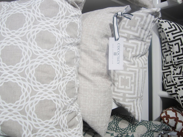 COCOCOZY Naturals linen pillow coversat the New York International Gift Fair