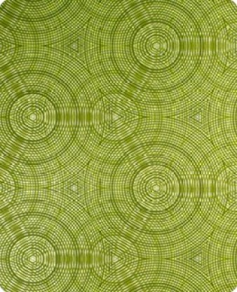 Green geometric wallpaper from Flavor Paper