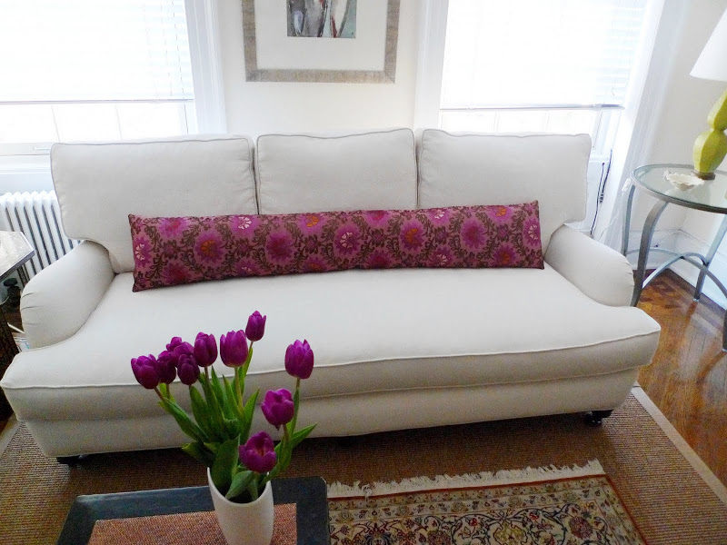 BEFORE amp AFTER MICRO MAKEOVER ANATOMY OF A NYC SOFA REDO COCOCOZY