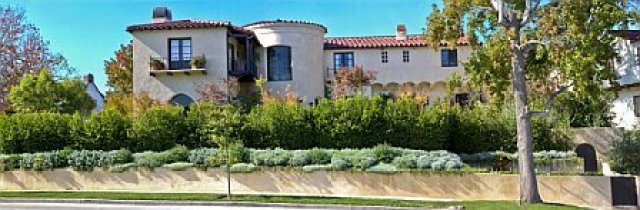 Exterior of a Cheviot Hills, CA home